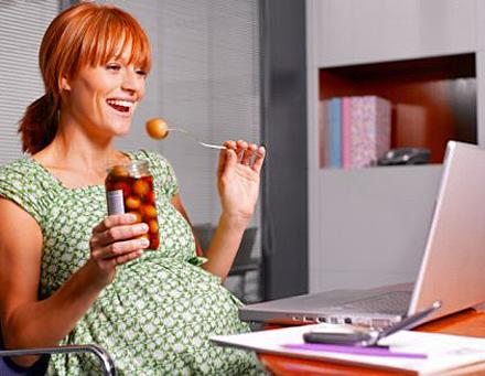 правильный рацион для похудения во время беременности