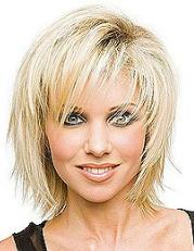 Причёска к овальному типу лица