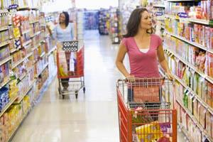 покупки в супермаркетах